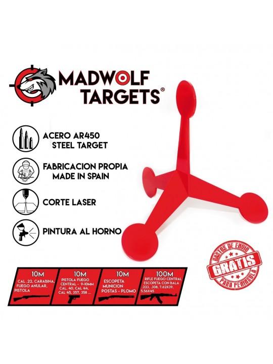 dynamic target - shooting steel  moving target - walker target