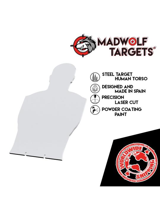 cible Steel Target obbietivo Tiro Dinamico Sportivo silueta de tiro de metal human torso