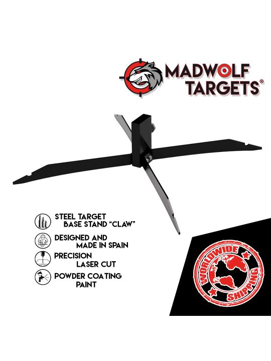 bersagli in acciaio Stahlziel steel target silueta de tiro metalica cible métal base stand taktisches stahlziele