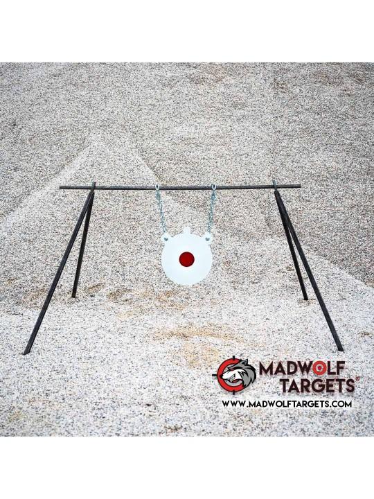 IPSC gong francotirador sniper steel target blanco de tiro stahlziel