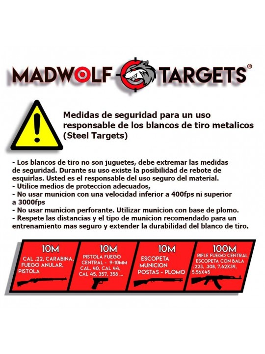 Compatible with our steel target plates and steel target claw base stand  sc 1 st  Madwolf Targets & Steel Target Plate Stand for Shooting Targets - Madwolf Targets