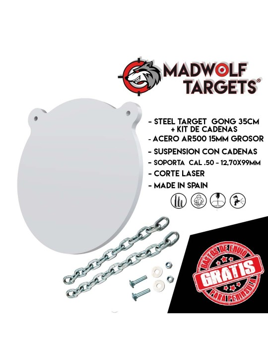 Cible de metal  AR500 tireur d'élite sniper alvo de aço atirador de elite