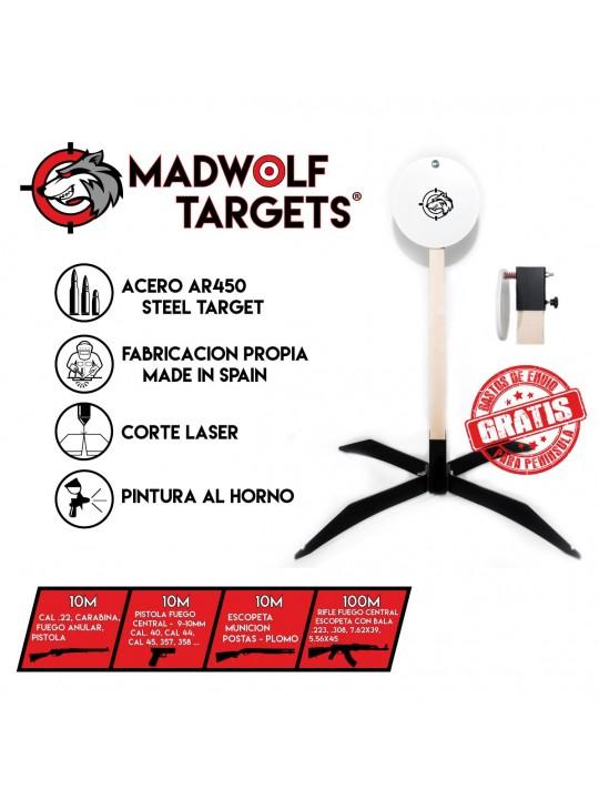 Steel target España - Gong de tiro -  blanco de tiro metalico