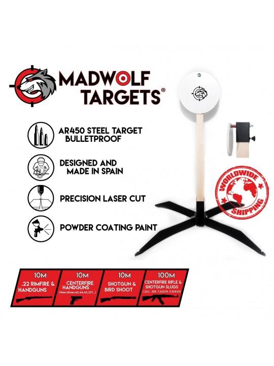 Steel target gong - precision shooting  - Ipsc target