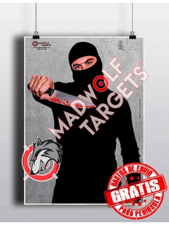 Blanco de tiro terrorista Estado Islámico - Entrenamiento policial